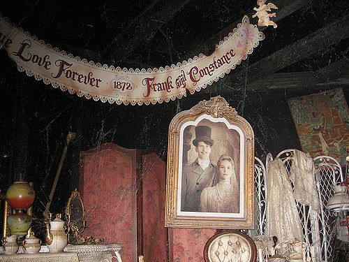 .. Love Forever { 1872 } Frank & Constance .. // Haunted Mansion // The Attic