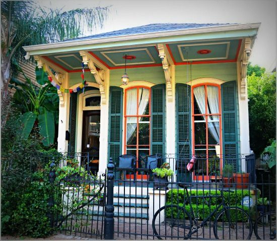 Victorian shotgun style house new orleans lovely small for New orleans style homes