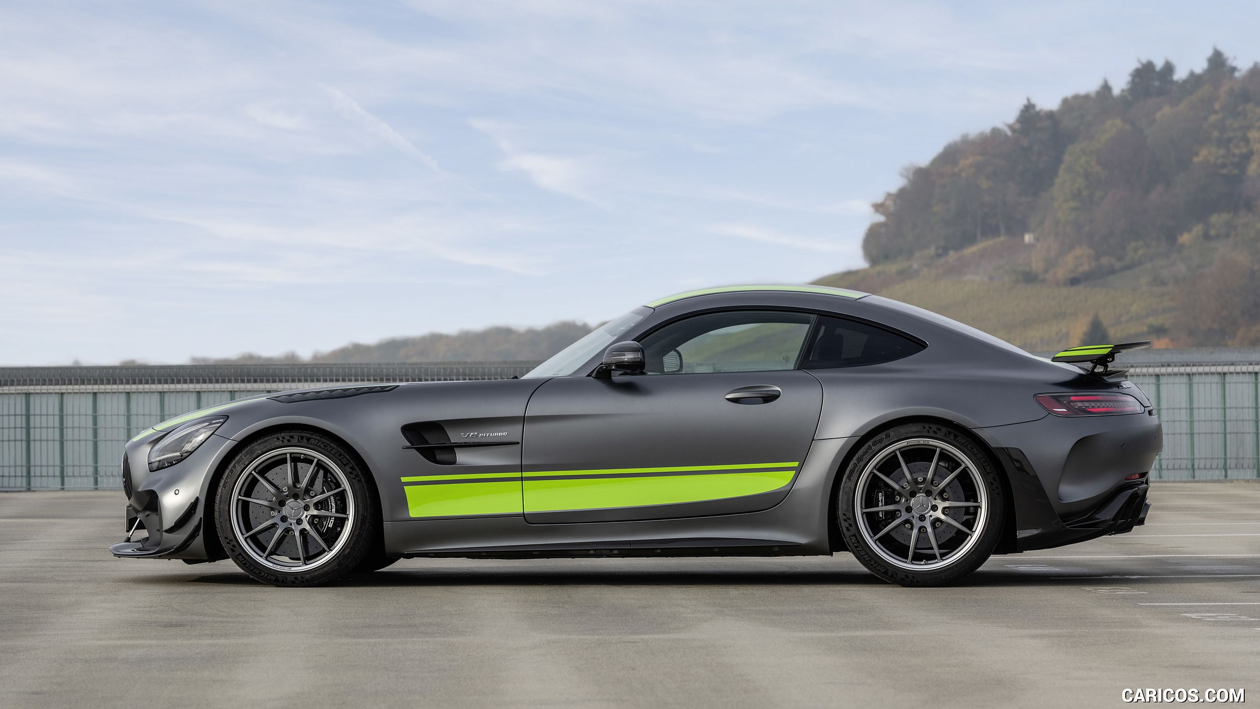 2020 Mercedes-AMG GT R Pro (Color: Selenite Grey Magno) – Side HD