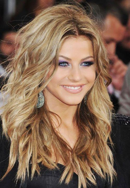 Tagli di capelli per capelli lunghi e mossi