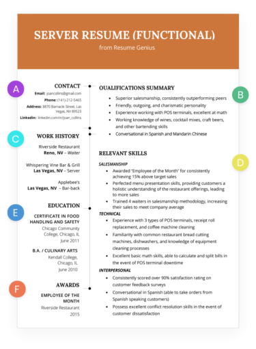 how to write a great resume with images  functional