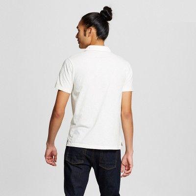 Men's Polo Shirt - Mossimo Supply Co. White Xxl