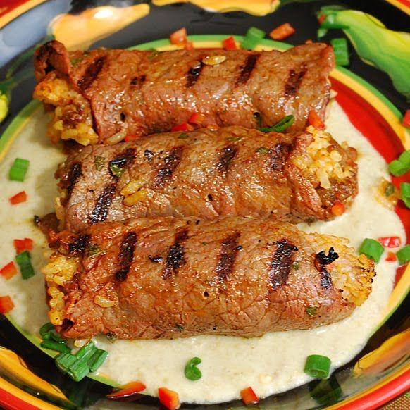 Fajita Beef Roll Ups | Pinterest | Milanesa, Food and Recipes