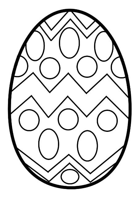 Easter Egg Coloring Pages For Kids Preschool And Kindergarten Coloring Easter Eggs Easter Egg Coloring Pages Easter Egg Template Easter coloring for preschoolers