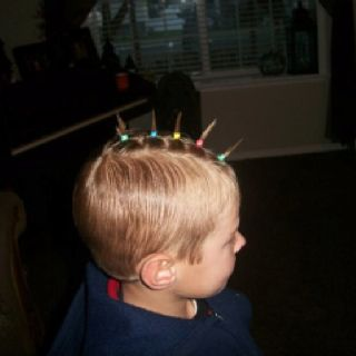Pin By Ilesha Depasquale On Things I Made Crazy Hair Boys Crazy Hair Day Boy Wacky Hair