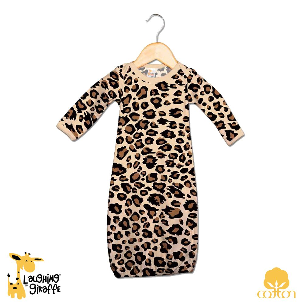Baby Bath Gowns - Newborn Sizes: 0-3, 3-6months. Color: Tan Leopard ...