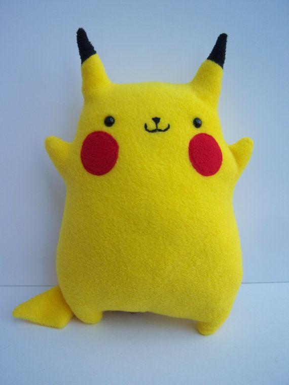 chubby pikachu geeky stitching ideas pinterest pokémon craft