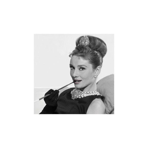 Audrey Hepburn in Colazione da Tiffany Stampe su AllPosters.it via Polyvore