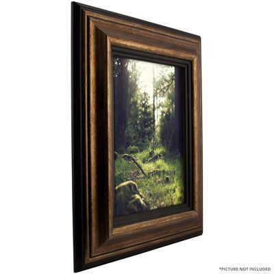 craig frames inc 302 wide smooth distressed picture frame size 13 x