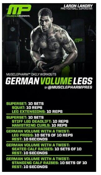 Love GVT! | BOOM! Killer workouts! | Musclepharm workouts
