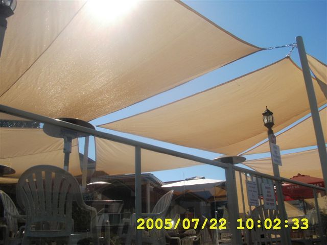 Sun Shade Sails Residential Deck Patio And Poolside Shelters Commercial And Industrial Tensioned Sail Shade Canopies Sun Sail Shade Shade Sail Shade Canopy