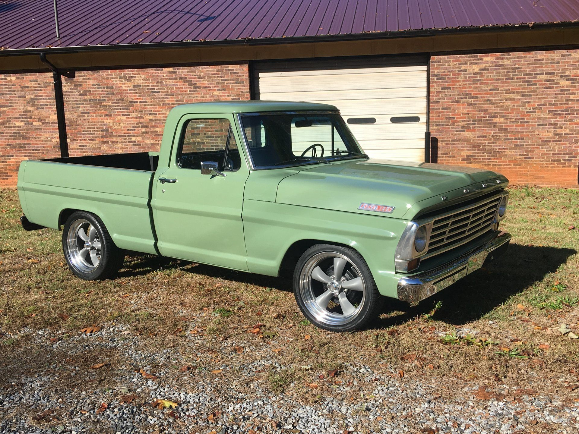 1967 Ford F100 Small Pickup Trucks Built Ford Tough Ford Trucks