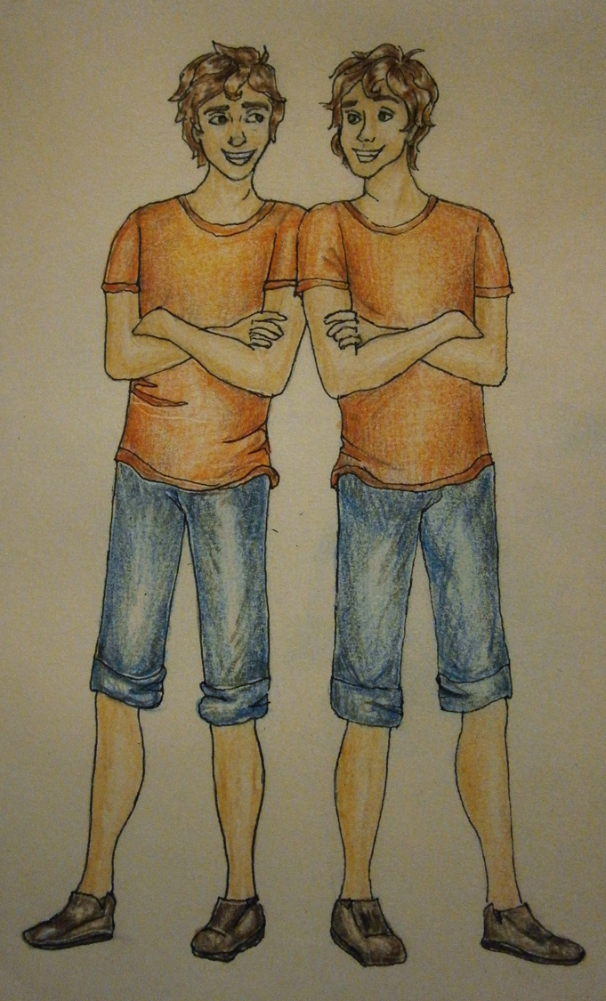 Connor and Travis the Stoll Brothers | Percy Jackson ...
