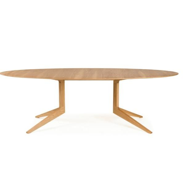 Light Oval Dining Table By Matthew Hilton For De La Espada In 2019 Dining Room Inspiration Table Dining Table Solid Wood Table