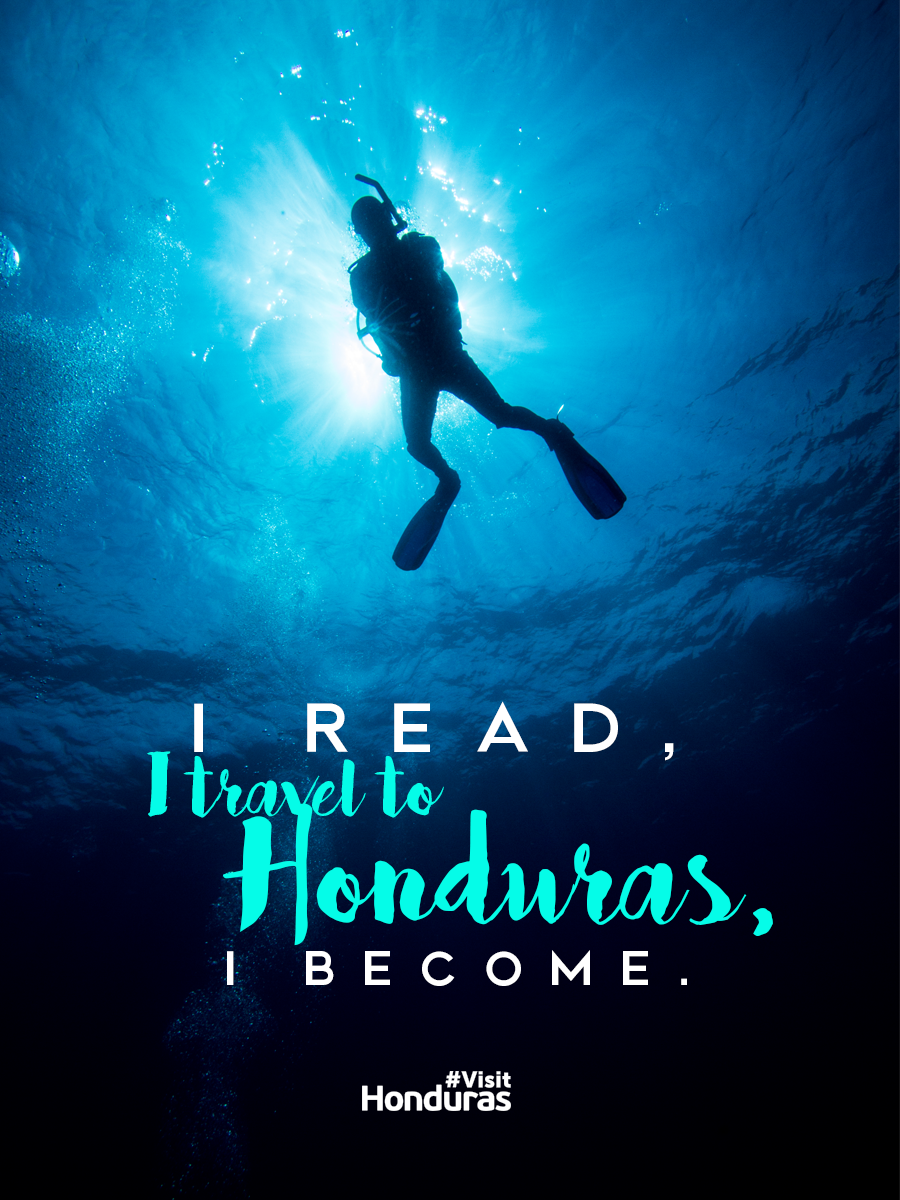 I read, I travel to Honduras, I become. | Travel Inspired Quotes ...