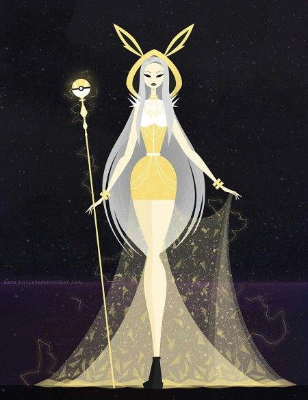 Goddess Eeveelutions