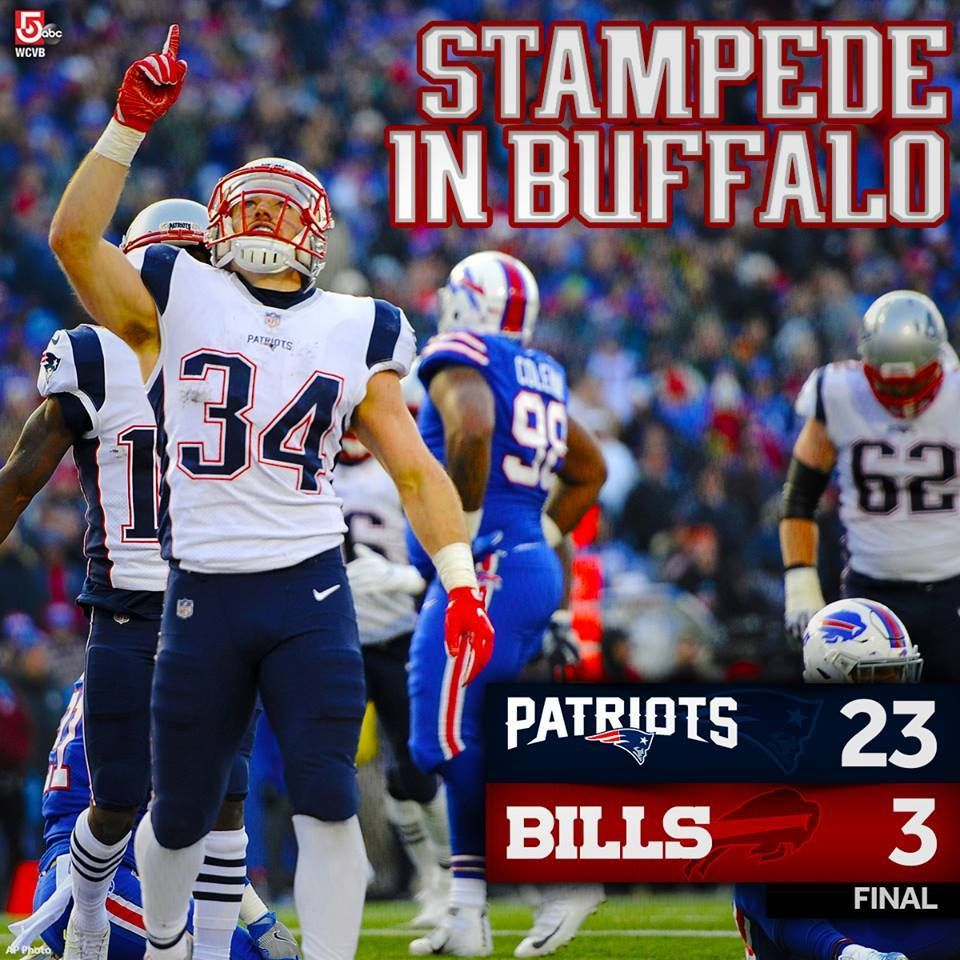 Make It 10 Wins For The New England Patriots As They Run Away With