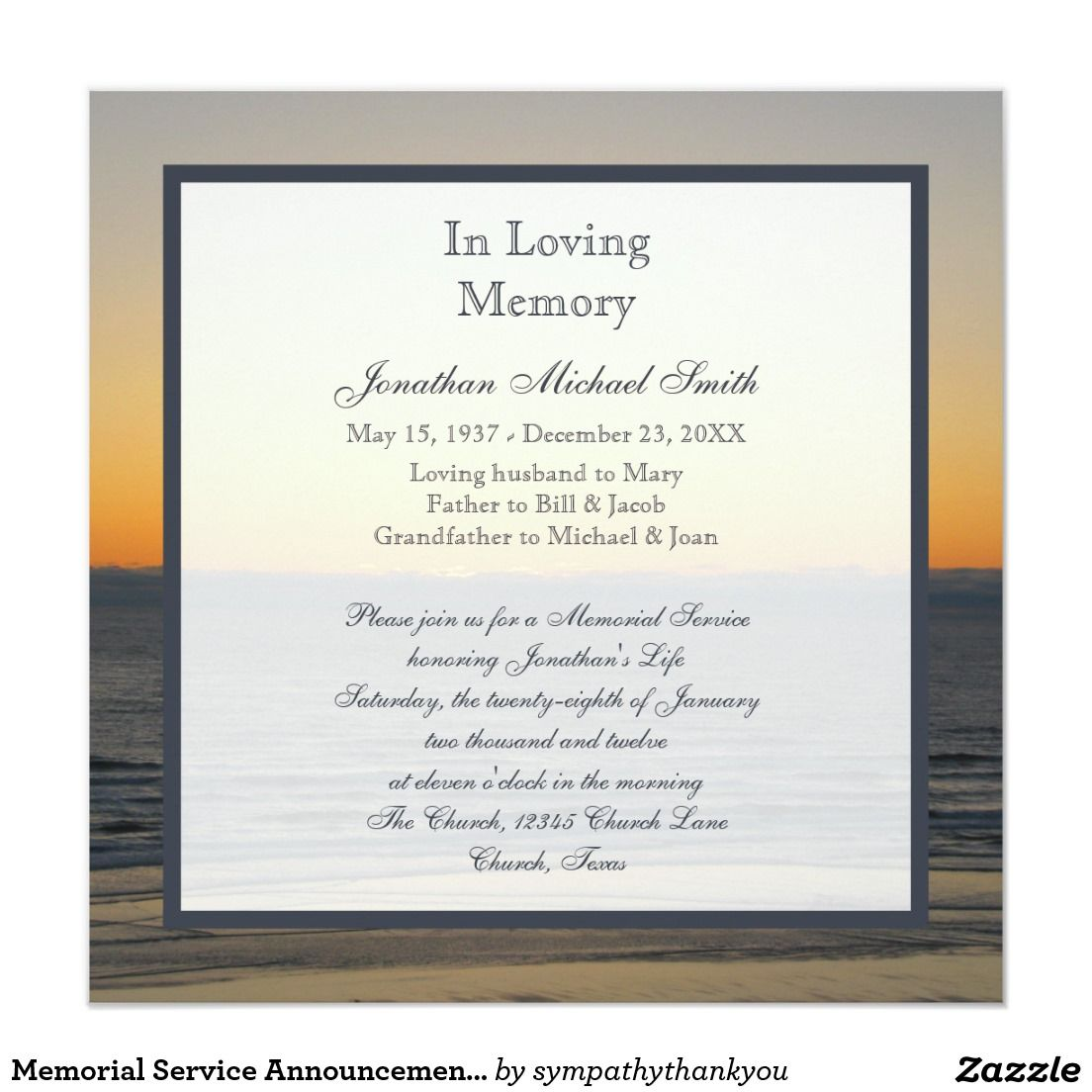 invitation wording Celebration of Life Invitation # ... |Funeral Services Announcement Cremation