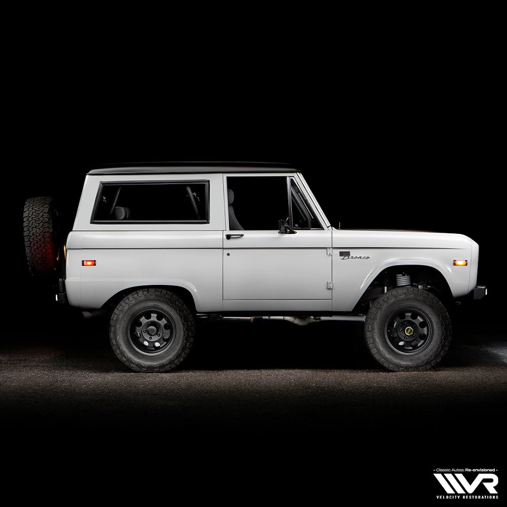 A Blend Of Innovation Speed And Comfort In A Timeless Classic Builtbyvelocity Bronco Earlyfordbroncos Ca Classic Ford Broncos Ford Bronco Classic Bronco