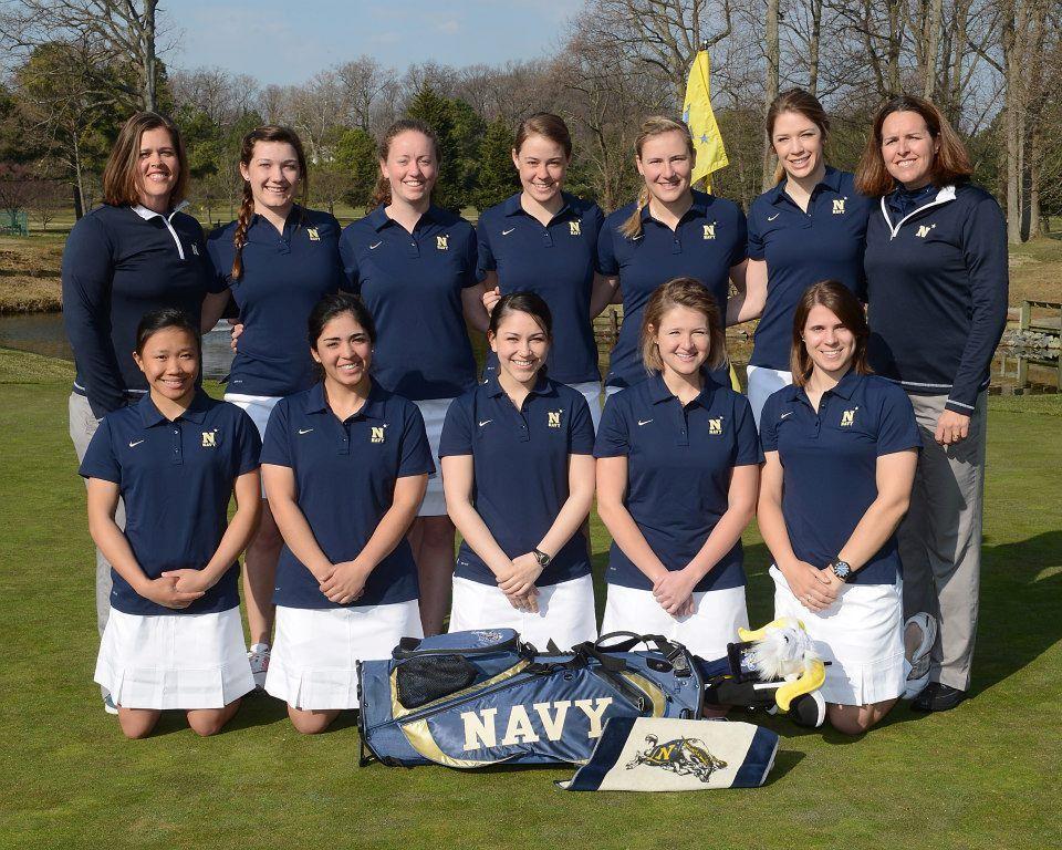 2013 Navy Women S Golf Team Navy Women United States Naval Academy Ladies Golf