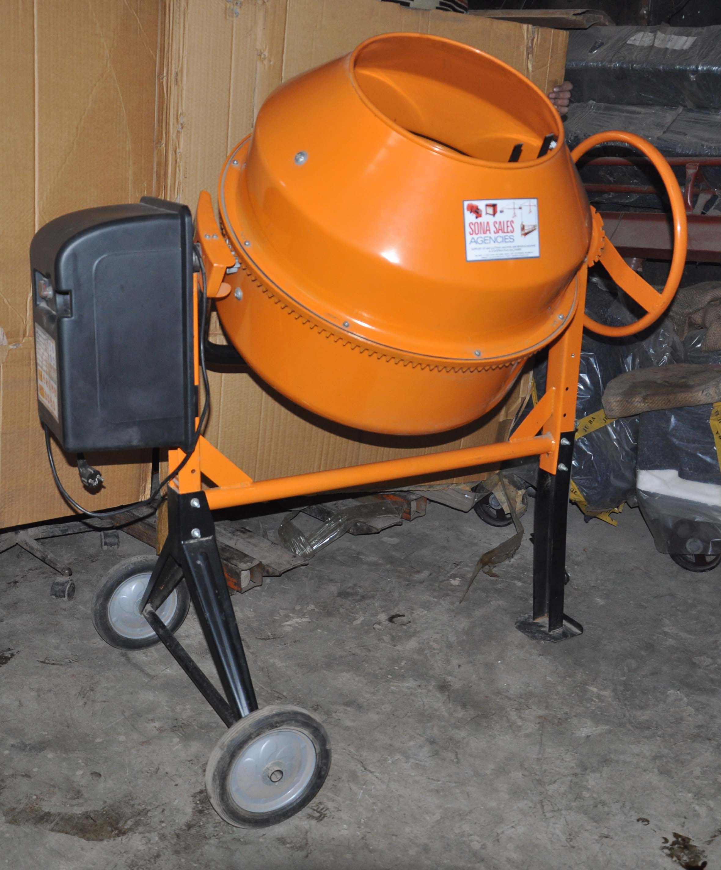 Find The Technical Specification Only At Stirrupbender In Cement Mixers Concrete Mixers Projects