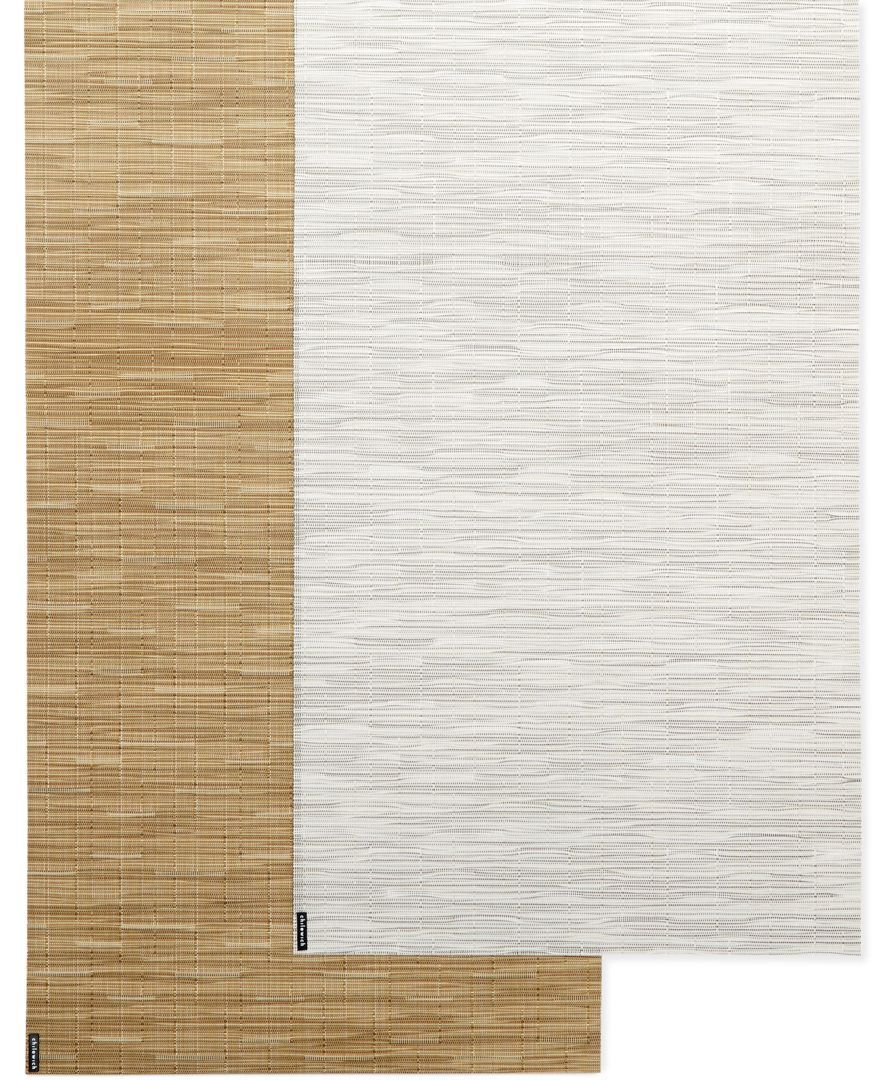 Chilewich Bamboo Style Vinyl Runner Decor Style Bamboo