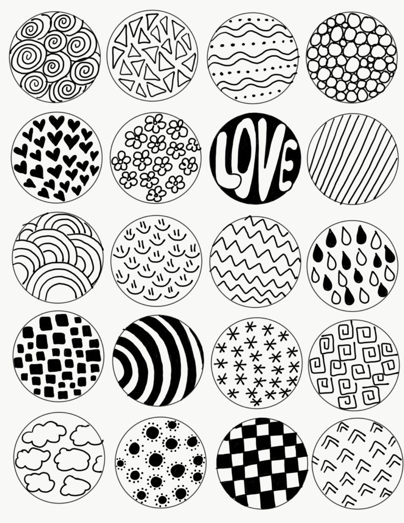 Zentangle Art for Kids Project