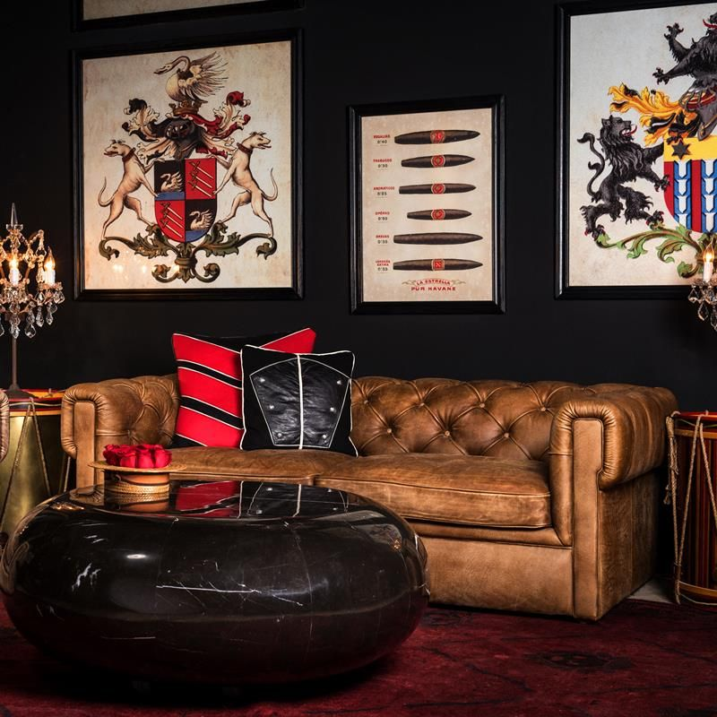 Leather & Fabric Sofa - Piccadilly   Timothy Oulton