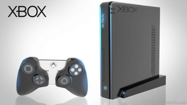 Xbox 720 Console Concept By Neil Jones Xbox One Console Console Game Console
