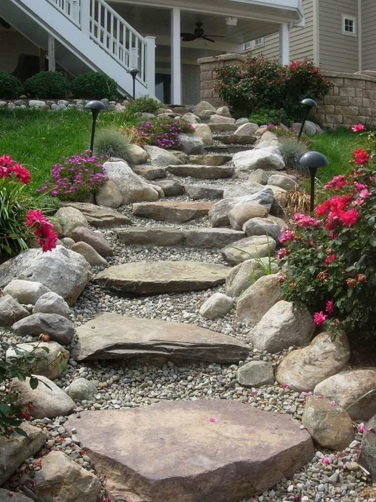Photo of 34+ Beautiful Garden Path Design Ideas For Your Garden #gardenpaths #gardendesig…