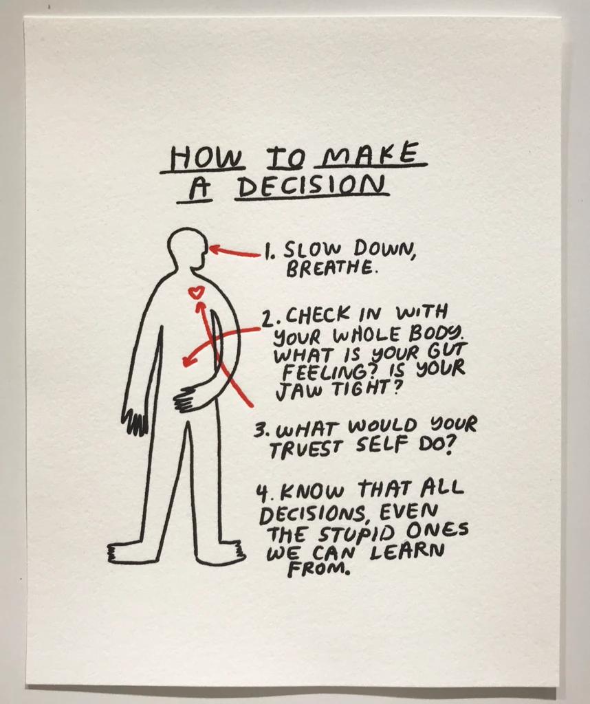 How To Make A  Decision - P9010