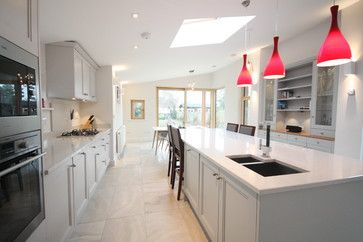 Best Main Kitchen Cornforth White Island Pavilion Grey 400 x 300