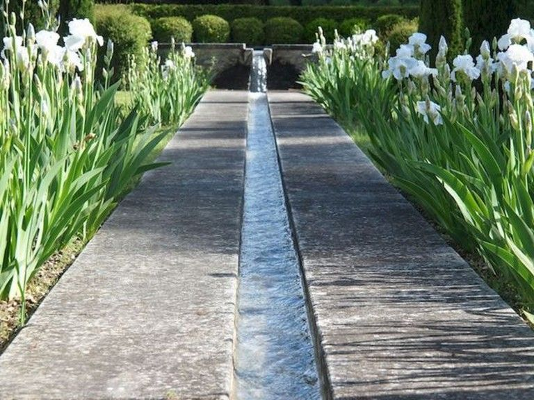 65 Awesome Water Feature for The Yard Landscaping #waterfeatures