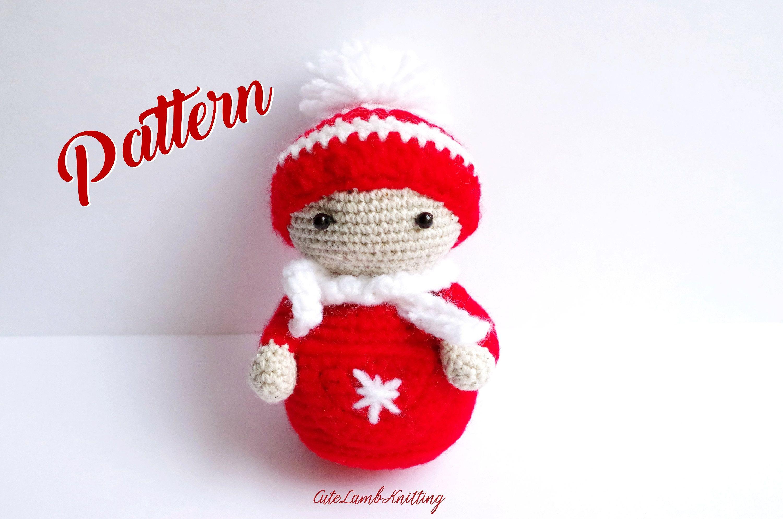 Crochet pattern, Crochet Elf pattern, crochet snowman, amigurumi ...