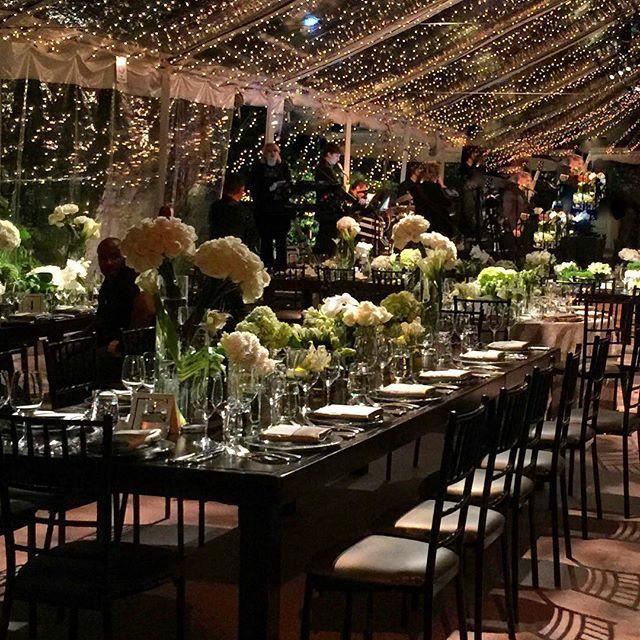 Elegant White Wedding Theme: Elegant Black And White Tented Wedding Decor