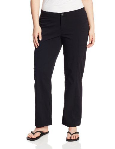 75427bfe Columbia Women's Just Right Straight Leg Pant, Black, 20 Plus Made ...