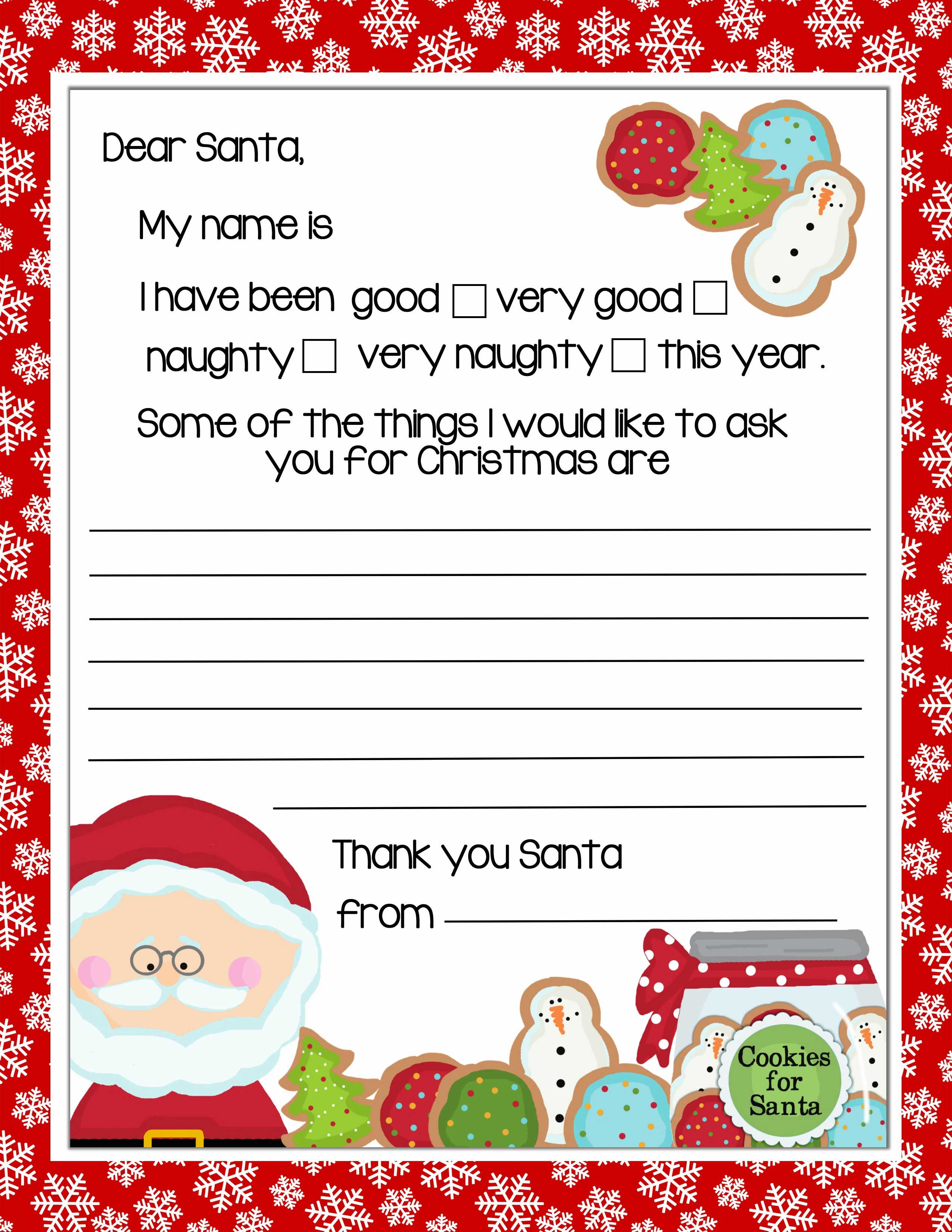 Letter to santa template free printable letter to santa template boy who asked santa for a toothbrush inspired grumbly police spiritdancerdesigns Gallery