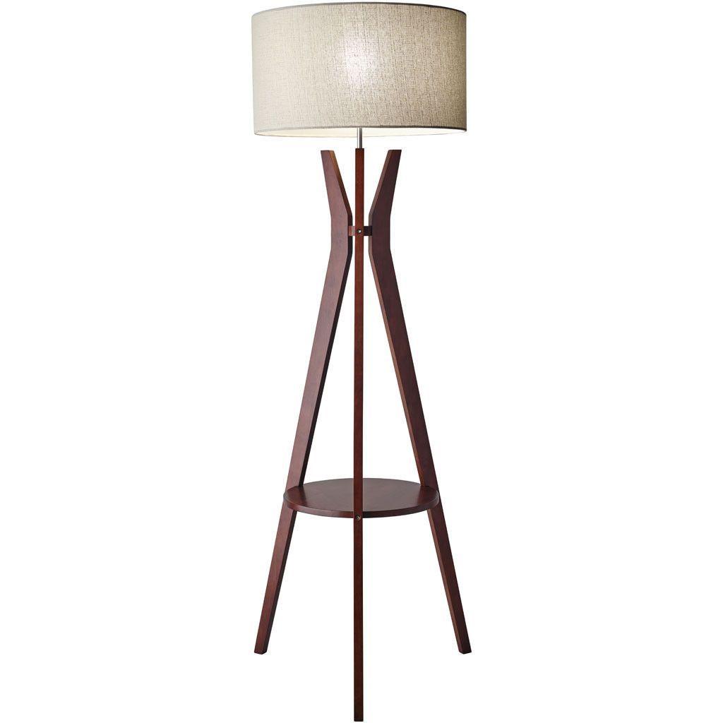 Beckler Shelf Floor Lamp