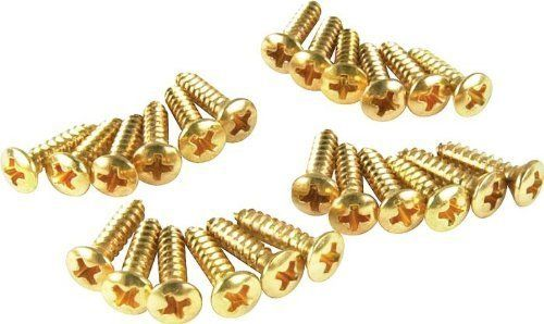Featherweight Stop Tailpiece NEW Adjusting Set Screws GOLD