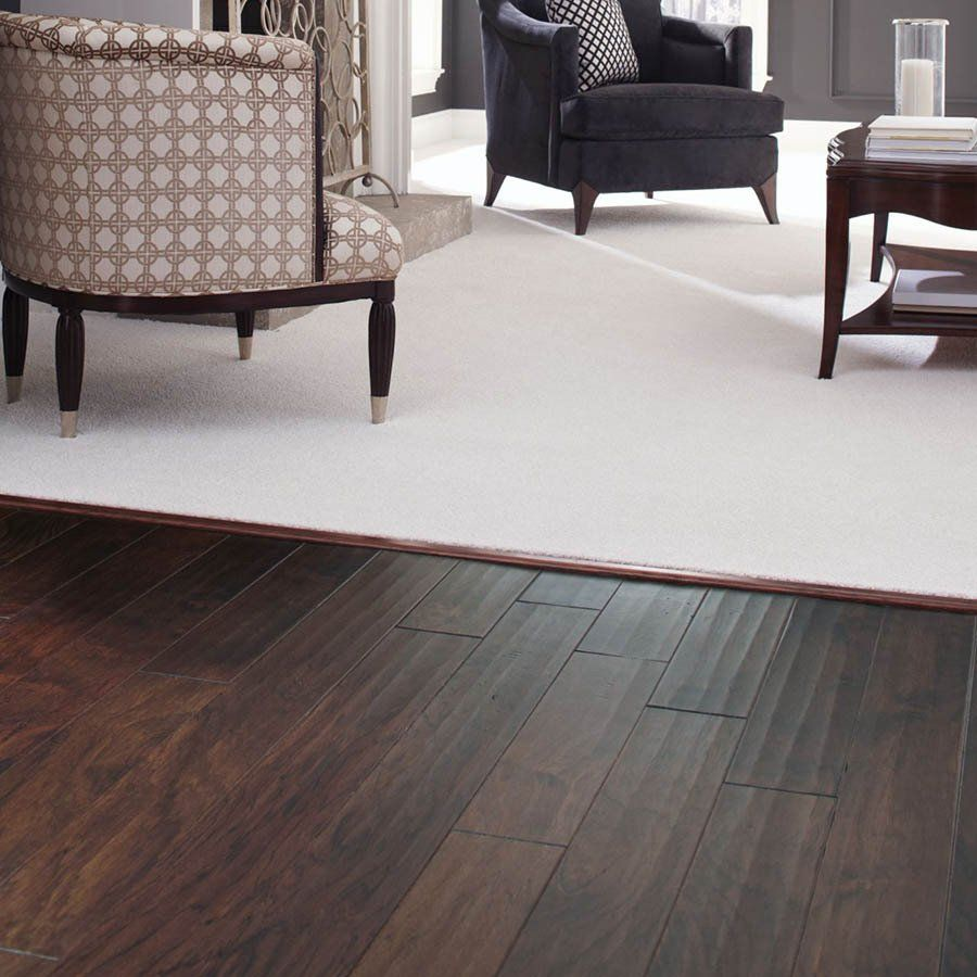 Mohawk 5 1 4 W X 48 L Maple Locking Hardwood Flooring: Mohawk 5.25-in X 48-in Hickory Rustic Scraped Chocolate