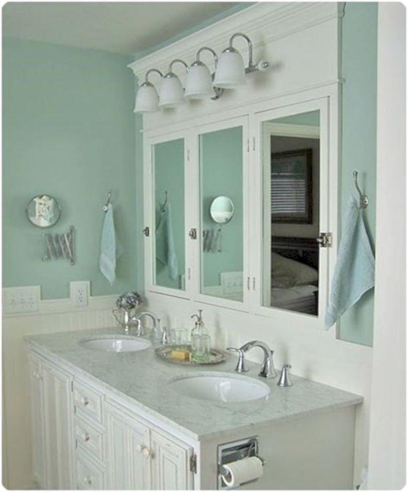 52 adorable bathroom cabinet paint color ideas  bathroom