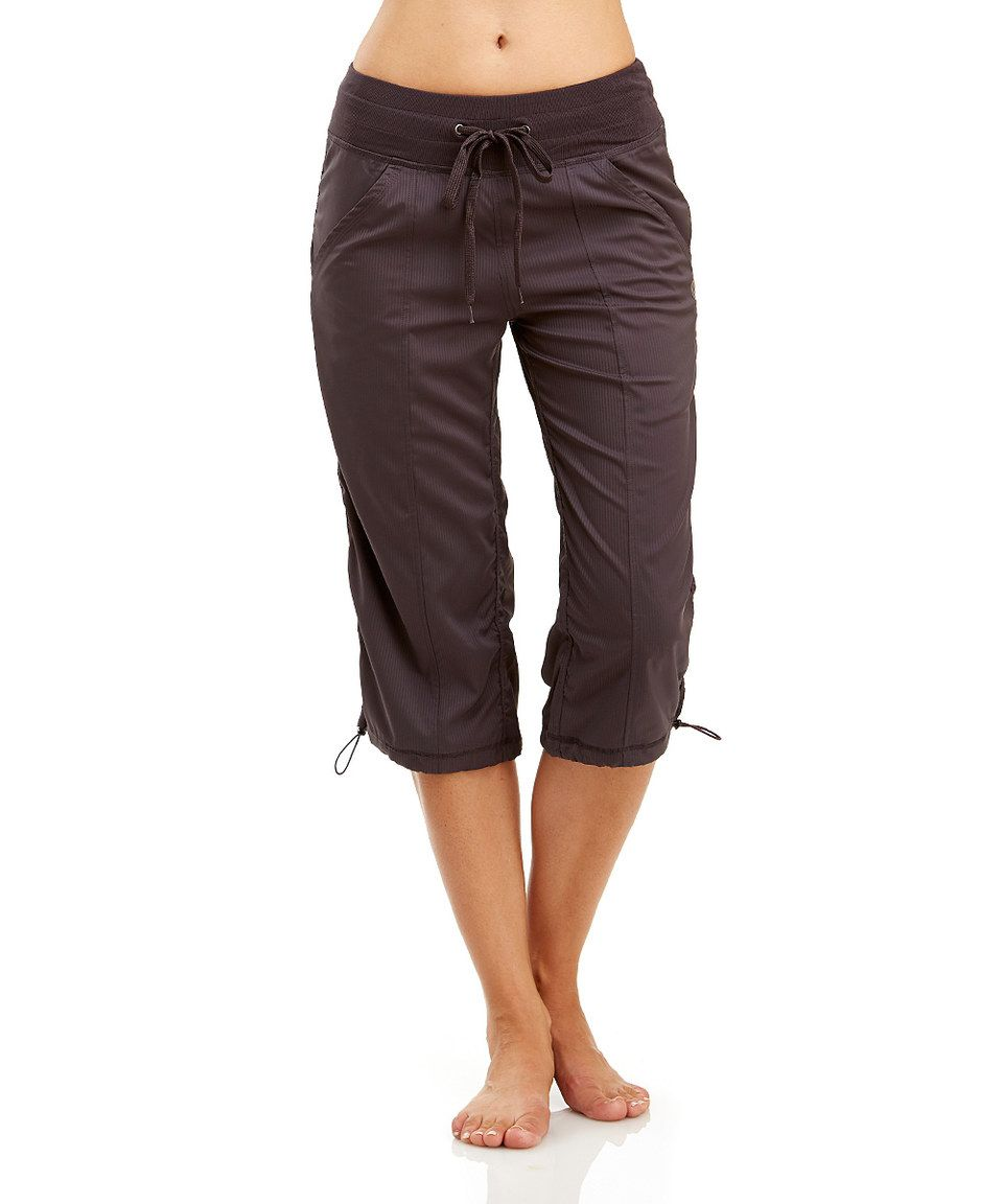 Marika Tek Nine Iron Toggle Capri Pants by Marika. Workout ...
