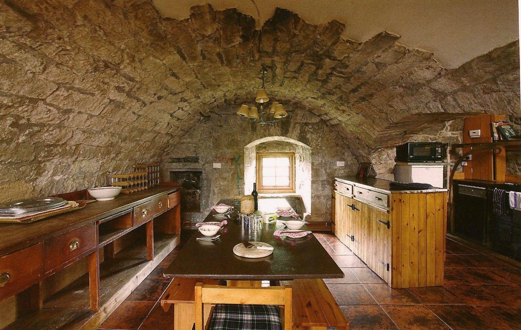 medieval castle kitchen #3 - medieval manor kitchen plane-castle