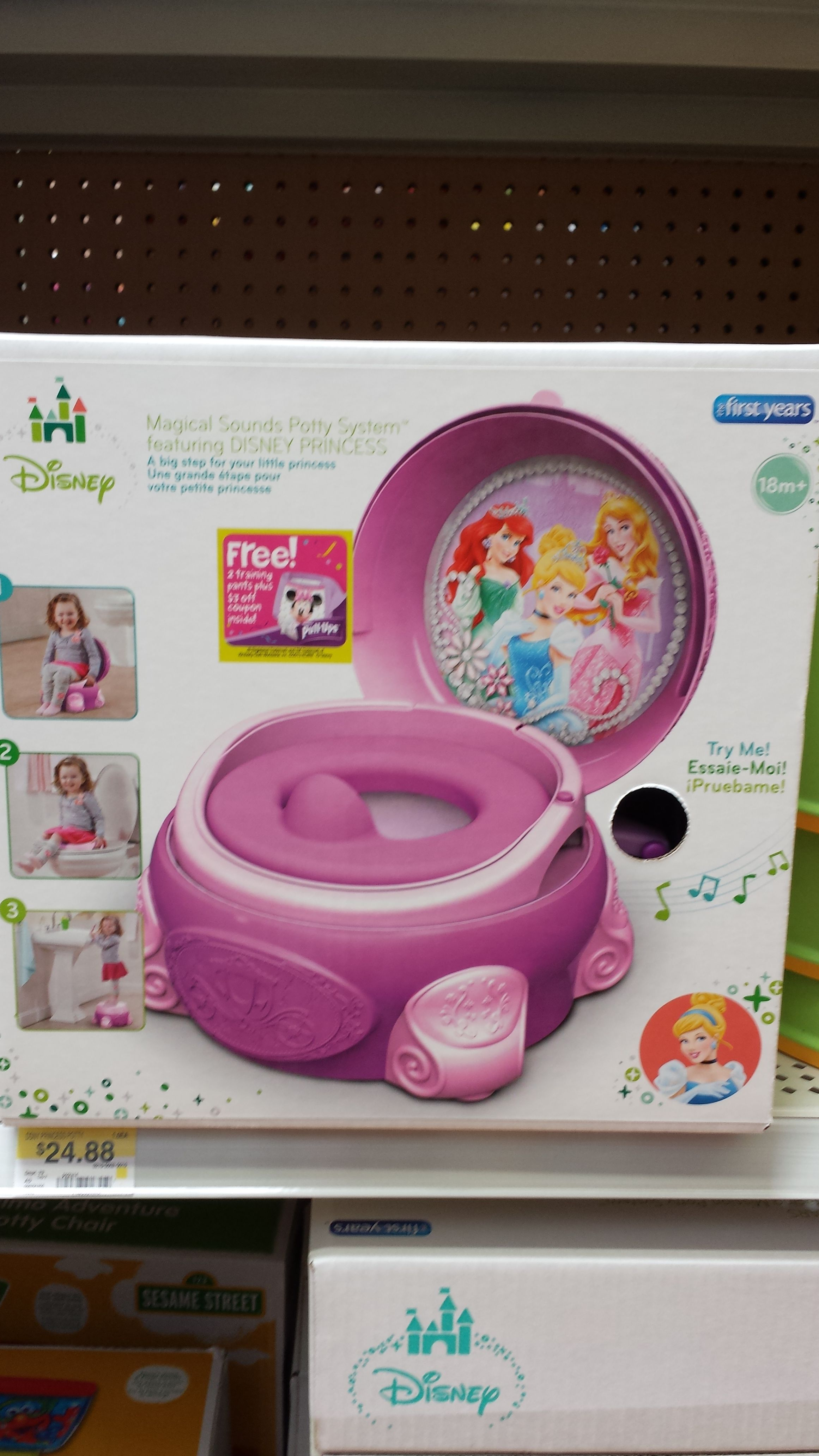 Cool Disney Princess Potty Chair Converts To Toilet And Step Pabps2019 Chair Design Images Pabps2019Com