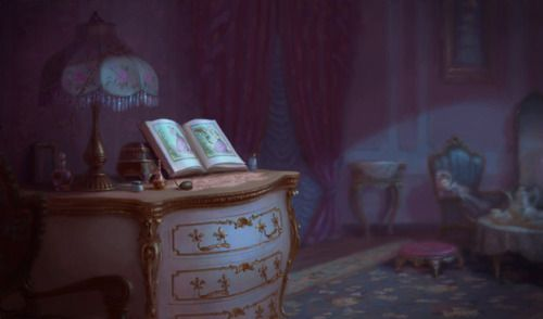 Princess and the Frog background art | :: Scenery- Illustration ...