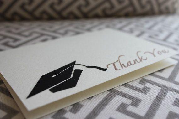8 graduation thank you cards graduation party thank