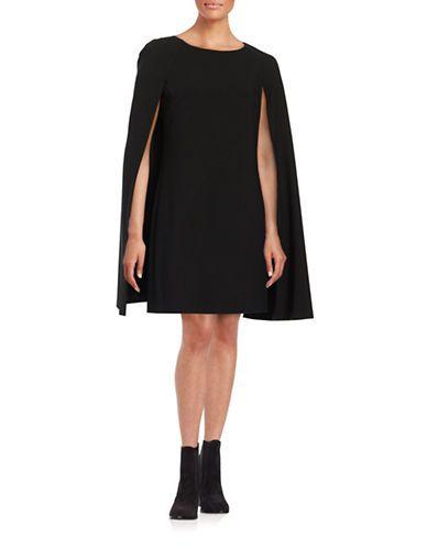 1b5ae898c68 Trina Turk Gizela Cape Dress Women s Black 2
