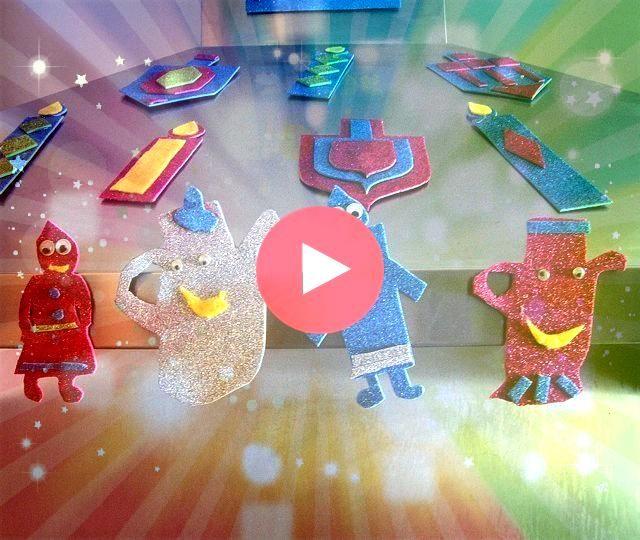 Craft Foam Magnets Close upHanukkah Craft Foam Magnets Close up Celebraiding Chanukah with this Menorah Challah  Humans of Judaism The Healing Kabbalah Of The New Year Of...