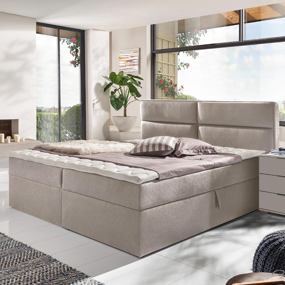 Boxspringbett Mercura In 2020 Bett Boxspringbett Schlafzimmermobel