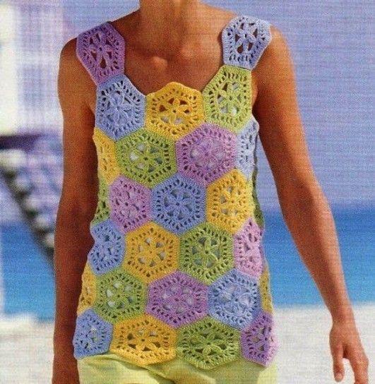 Maglie Estive Alluncinetto Da Fare Crochet Summer Tops Crochet